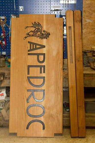 Made to Measure Oak Signs | The Sign Maker Shop